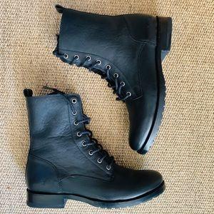 Frye Combat Boots Size 9